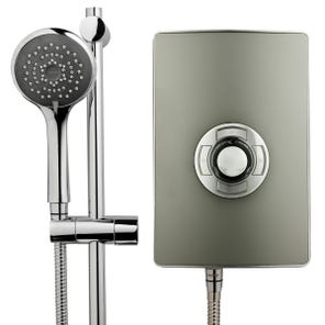 Aspirante Electric Shower - Gun Metal