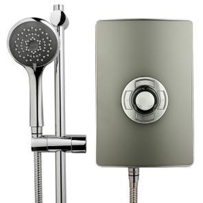 Style 3 Electric Shower - Gun Metal