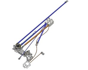 Outlet Pipe Assembly, Terminal Block and Wires (upto 2011)