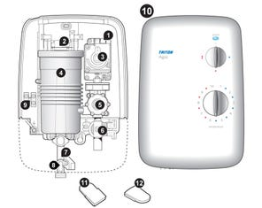 Agio Electric Shower Spares