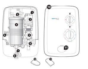 Aquatronic 2 Plus Electric Shower Spares