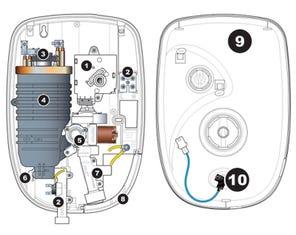 Aquatronic 3 Ultra Electric Shower - Satin Spares