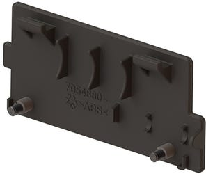 Battery Cover Assembly (inc. screws) - Black