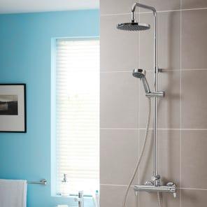 Dene Lever Bar Diverter Mixer Shower