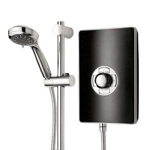 Aspirante Electric Shower - Black Pearl