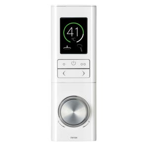 HOME Single Outlet Digital Mixer with Control - White