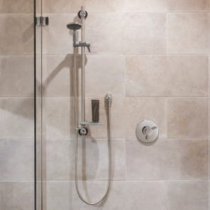 Elina Built-In Concentric Type 3 TMV Mixer Shower + Grab