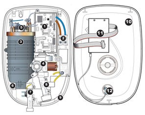 Bezique II Electric Shower - Chrome Spares
