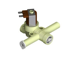 Solenoid Valve and Inlet Filter Assembly