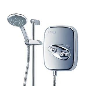 Aspirante Thermostatic Power Shower - Chrome