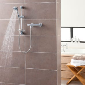 Dene Hi-Flo Bar Mixer Shower