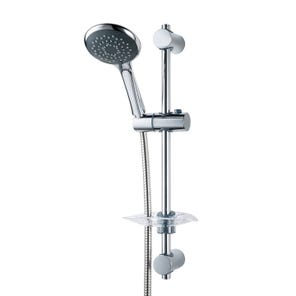 Lewis-8000 Series   Fast-Fit Shower Kit - Chrome