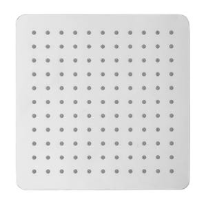 Evie Square Edge Fixed Shower Head - 250mm
