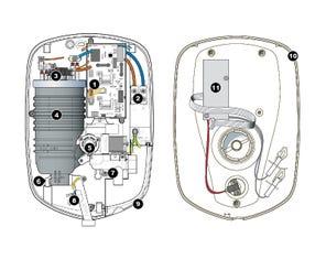Aspirante XR Electric Shower - Chrome Spares