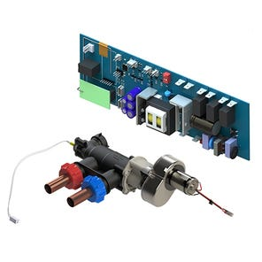 Temperature Valve, Motor + Thermistor and PCB - Single Outlet (High Pressure)