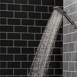 Katie | Square Edge Shower Head - Chrome
