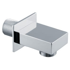 Square Edge Shower Wall Outlet