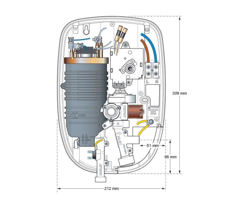 Aquatronic 3 Ultra Electric Shower