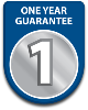 1 year parts and labour guarantee