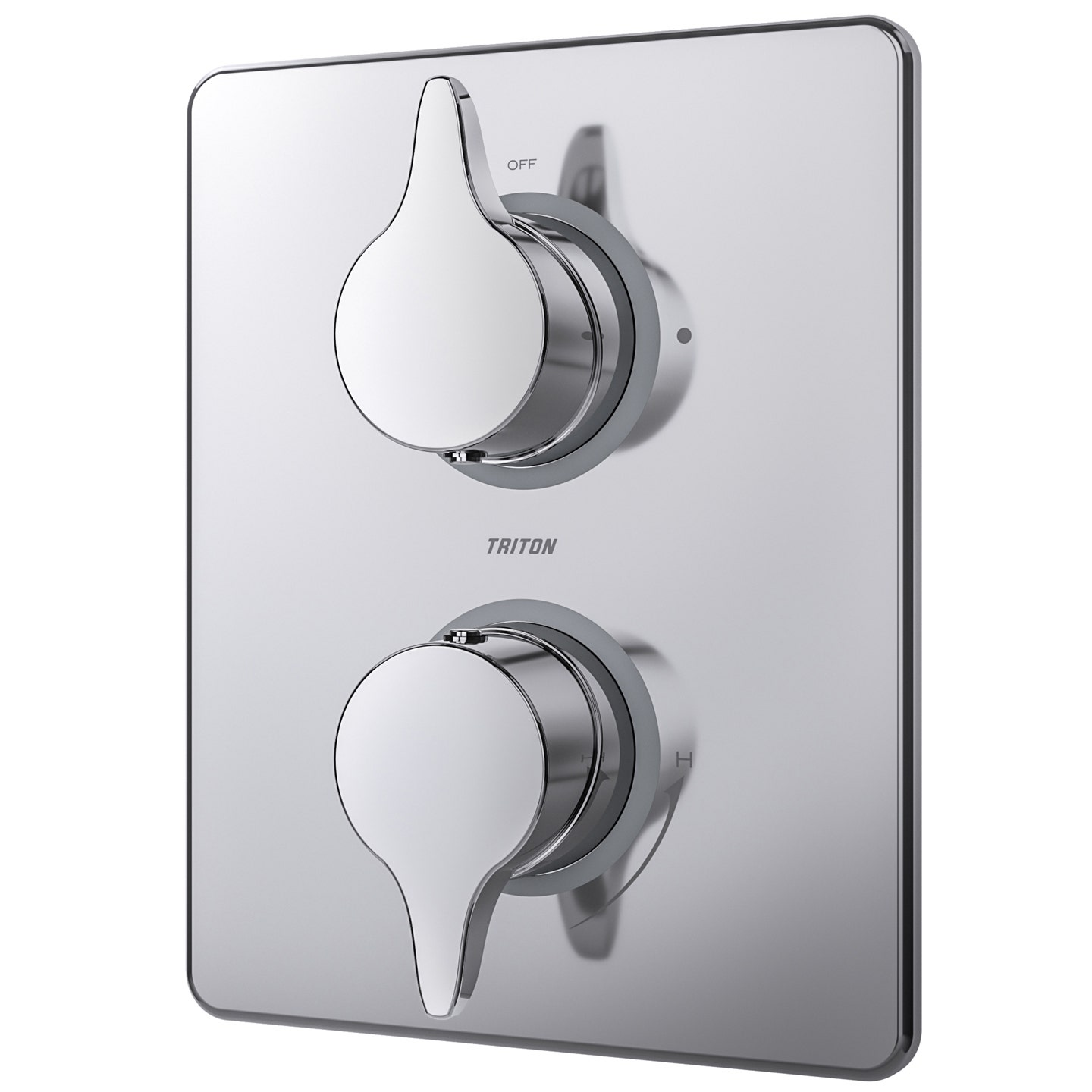 Eden Dual Control Mixer with Diverter